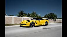 corvette c7 z06 c7r velgen wheels vf5 light weight