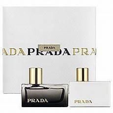 prada prada l eau ambr 233 e perfume gift set for 1 7