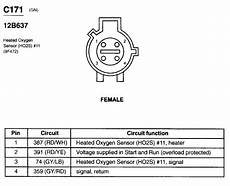 ford oxygen sensor wire diagram o2 sensor wires ford mustang forum