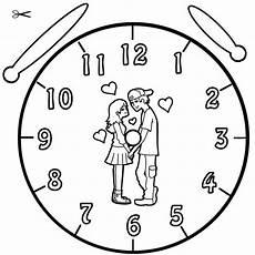 Malvorlagen Uhr Hochzeit Ausmalbilder Liebespaar