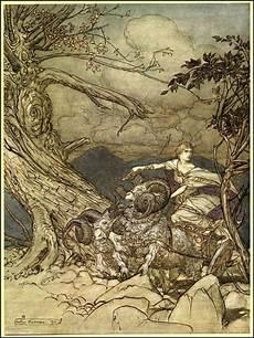 Wagner Illustration 187 187 Auf - arthur rackham siegfried the twilight of the gods