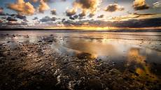 free picture water dusk sunset sun