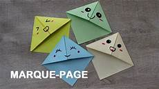 comment faire un origami faire un marque page kawaii en origami simple et rapide