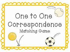 one to one correspondence activity sports theme by