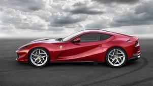 Ferrari 812 Superfast Car Photo Side View Wallpaper
