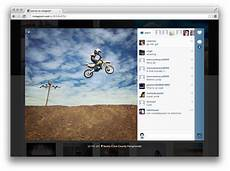 instagram launches web profiles but maintains clear focus