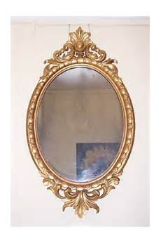 antiques atlas carved giltwood oval mirror 19th c