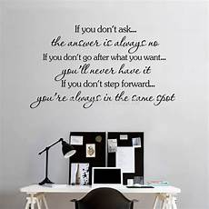inspirational wall sticker quotes inspirational quotes wall stickers removable decal home