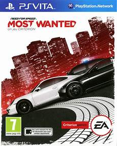 need for speed le jeu need for speed most wanted sur playstation vita