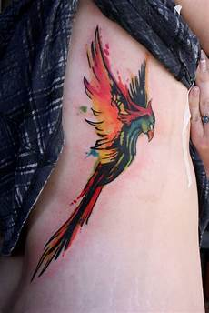 45 rising phoenix from the ashes tattoo