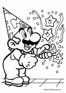 Malvorlagen Gratis Mario Mario Ausmalbilder 6 Mario Geburtstag Mario
