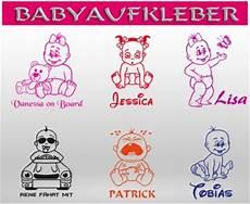 Babyaufkleber Autoaufkleber Baby On Tour Board Kinder