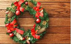 christmas wreath wallpapers wallpaper cave