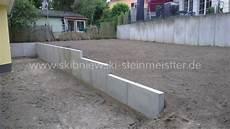 beton palisaden granit palisaden l stein
