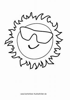 Kostenlose Malvorlagen Sonne Ausmalbilder Kl Ausmalbild Sonne