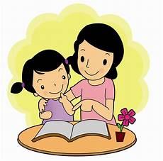 Gambar Kartun Ibu N Anak Top Gambar