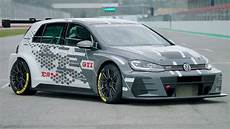 2019 vw golf gti tcr racing car wider and more