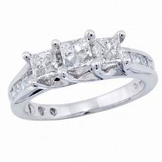 1600 off at sears 3 stone center engagement ring