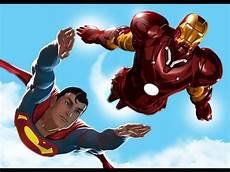 Gambar Superman Terbang Kartun Moa Gambar