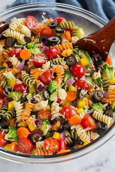 nudel pesto salat easy pasta salad recipe the best cooking