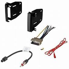 2009 dodge journey radio wiring dodge 2009 2010 journey car cd stereo receiver dash install mounting kit wire harness and