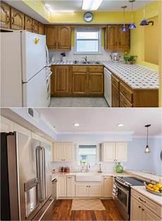 renover sa cuisine avant apres relooking cuisine bois en 18 photos avant apr 232 s