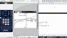 gdc use for finding asymptotes equations of tangents and