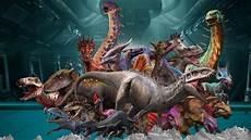 Malvorlagen Jurassic World Alive убежище динозавров и новые гибриды Jurassic World Alive