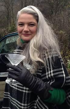 celebrating women with long grey hair 40 plus style celebrating women over 40 with long grey hair