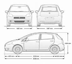 dimension fiat punto new fiat grande punto