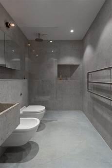 Betonoptik L 228 Sst Das Badezimmer Puristisch Und Modern
