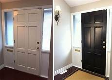i may try painting the inside of my front door black to