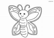 Malvorlage Schmetterling Einfach Forest Animals Coloring Pages 187 Free Printable 187 Forest