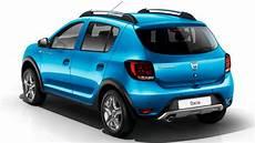 Dacia Sandero Stepway 2017 Dimensions Boot Space And Interior