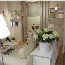 ikea livingroom beige cream white ektorp flowers and