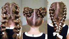 3 easy back to school hairstyles 3 cool hairstyles to make youtube
