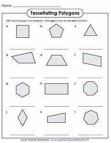 super teacher worksheets polygons tessellation worksheets