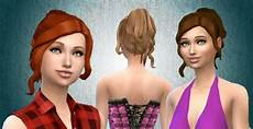 custom content hair sims 4 sims 4 custom content finds curly ponytail hair by kiara mystufforigin sims 4 updates