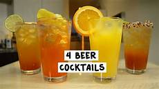 four beer cocktails youtube