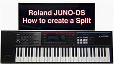 Roland Juno Ds How To Create A Split Layer