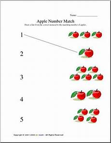 worksheet number recognition preschool primary abcteach