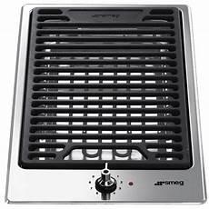 smeg grille smeg domino grill pgf30b 30 cm fab appliances