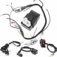 250cc wiring harness 150cc 200cc 250cc wiring harness loom solenoid coil regulator cdi for atv bike alex nld