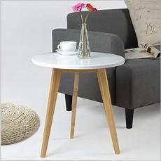 Modern Design Bamboo Side Table Minimalist Tea Table