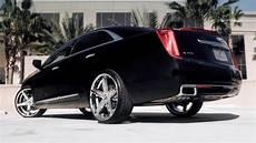 cadillac xts 20 quot r four lexani black series wheels youtube