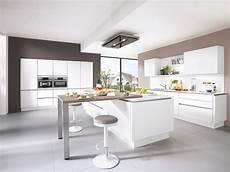 Küche Weiß Modern - k 252 che in wei 223 wohnland breitwieser