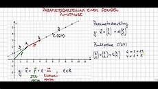 Parametergleichung Einer Geraden Punktprobe Gerade Durch