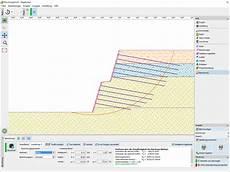 nagelwand geotechnische software geo5
