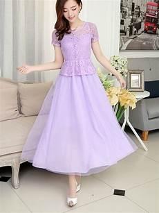 Dress Pesta Brokat Cantik Model Terbaru Jual