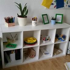 Kinderzimmer Kreativregal Ikea Kallax Montessori